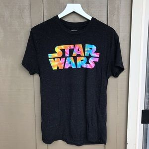 star wars | medium tie dye logo tee